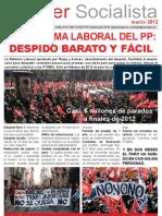 Moguer Socialista Marzo 2012