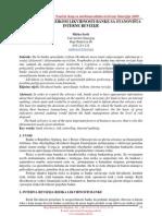 SN - Upravljanje rizikom likvidnosti banke sa stanovišta interne revizije[1]