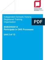 2  bsbohs201a participate in ohs processes v2