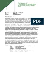 ABET Laminati Tech Data HPL Horizontal Post Forming 0.9mm R-110