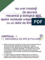 Proiect Indicatori Fizici s i Chimici_bacteriologici_samuila_colegiul Azur_timisoara