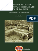 The discovery of the Roman fort at Cripplegate, City of London