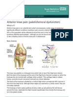 Anterior Knee Pain Oct10