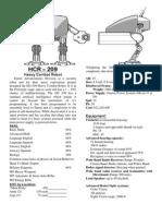 HCR 209 Robot I created for Palladium RPG