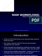Camera Raw Work Flows