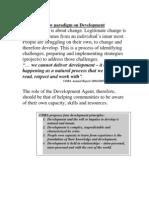 New Paradigm on Development