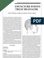 Acupuncture Headache