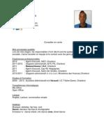 CV auxilliaire administratif et d'accueil