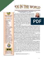 Antropos in the World  numero di Aprile Rivista diretta da Franco Pastore e alla quale collabora il nostro amico Cesare