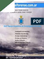 www.eaiforense.com.ar EAIF Afiche Institucional