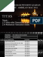 Pembentangan TITAS