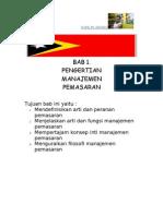 pengartian Manajamen Pemasaran Di Timor Leste.doc
