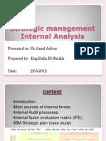 St.internal Analysis & IBM St.plan Final Ppt Mid Term Case