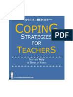 Coping Strategies for Teachers Free Report