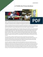 Pengantar Ilmu Politik Dan Pemerintahan Di Timor Leste. Ainaro, Soro