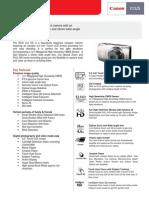 Dsc - Ixus 310 Hs Tech Sheet_final
