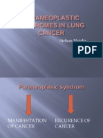 Para Neoplastic Syndromes in Lung Cancer