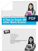5 Tips to Crack IBPS & Other Bank Exams