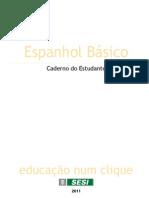 Espanhol Basico Caderno Estudante