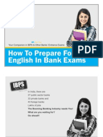 How to Prepare for English in Bank Exams