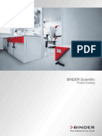 BINDER Scientific Cataloge 3-2010