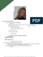 CV English Lorena