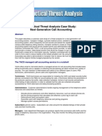 Call Accounting Case Study