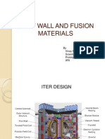 First Wall and Fusion Materials