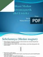 Aplikasi Medan Elektromagnetik (Bel Listrik)
