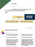Diversity Techniques