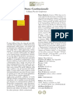Stato Costituzionale - sul nuovo costituzionalismo. Mauro Barberis