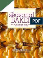 Recipes from The Seasonal Baker by John Barricelli