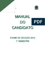 Manual Exame Selecao 2012 1