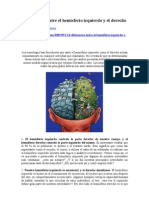 4 Diferencias Entre El Hemisferio Izquierdo...