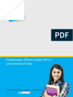Probationary Officers Exam 2011_ Union Bank of India