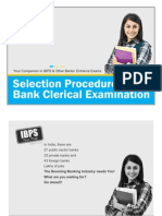 Selection Procedure for Bank Clerical Examination
