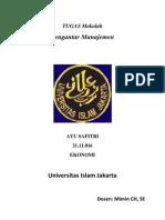Proposal Usaha Butik Beserta Contoh - a BISNIS