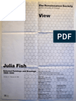 Julia Fish Exhibition PosterPoster