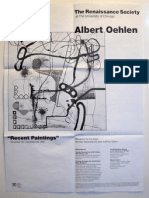 Albert Oehlen Exhibition Poster