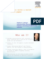 How to Write a World Class