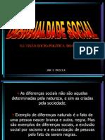 DESIGUALDADE SOCIAL - NA VIS%C3O SOCIO-POLITICA  DO BRASIL