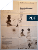 Sikander Exhibition Poster