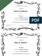 Certificado Semana Biblioteca-DICCIONARIO