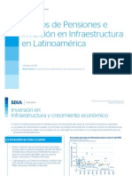 Fondos de Pensiones e Inversion en Infraestructura