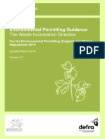 WID Waste Incineration Directive 2000-76-EC