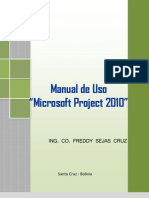Manual Del Ms Project 2010