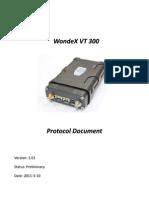 VT300 Protocol Document V101 (20110310)