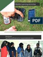 Mobile Learning - Vwbpe