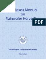 The Texas Manual on Rainwater Harvesting