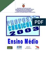 Pará - Proposta Curricular Ensino Médio